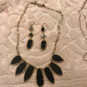 Stella and Dot necklace and earrings set